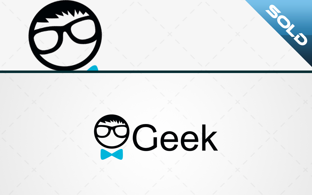 geek logo for sale