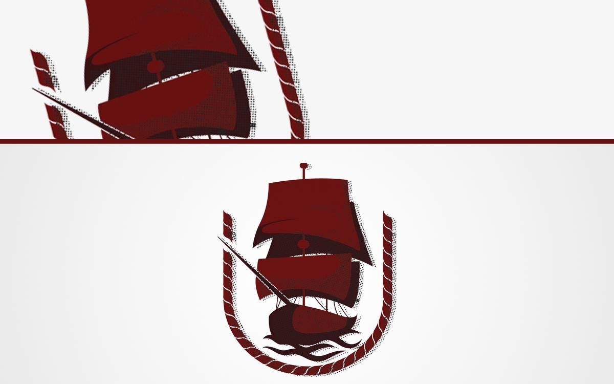 ship logo for sale