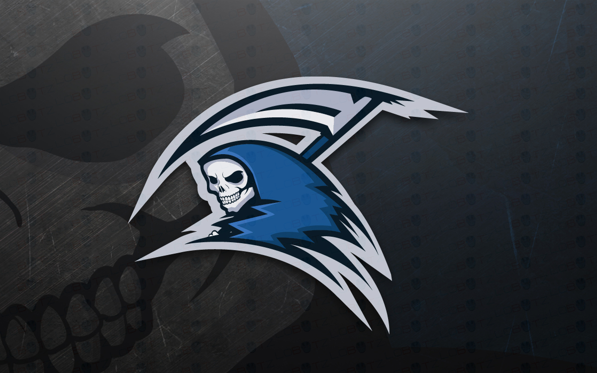 Reaper Mascot Logo For Sale