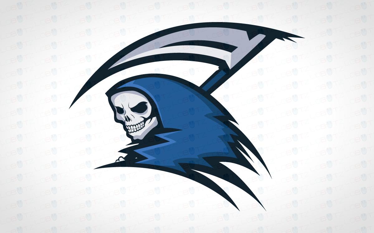 reaper mascot logo reaper esports logo for sale lobotz