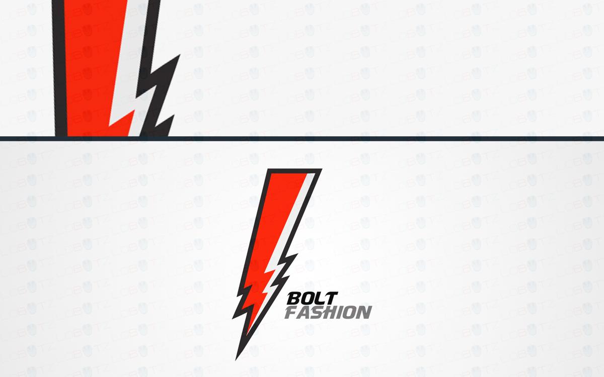 bolt logo for sale