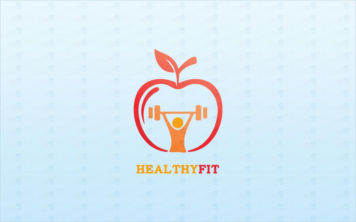 Modern Health Gym Fitness Logo For Sale