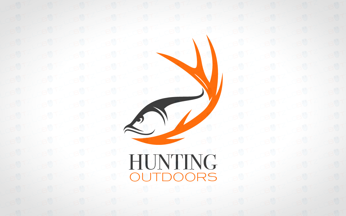 Fishing logo for Hunting and fishing logos