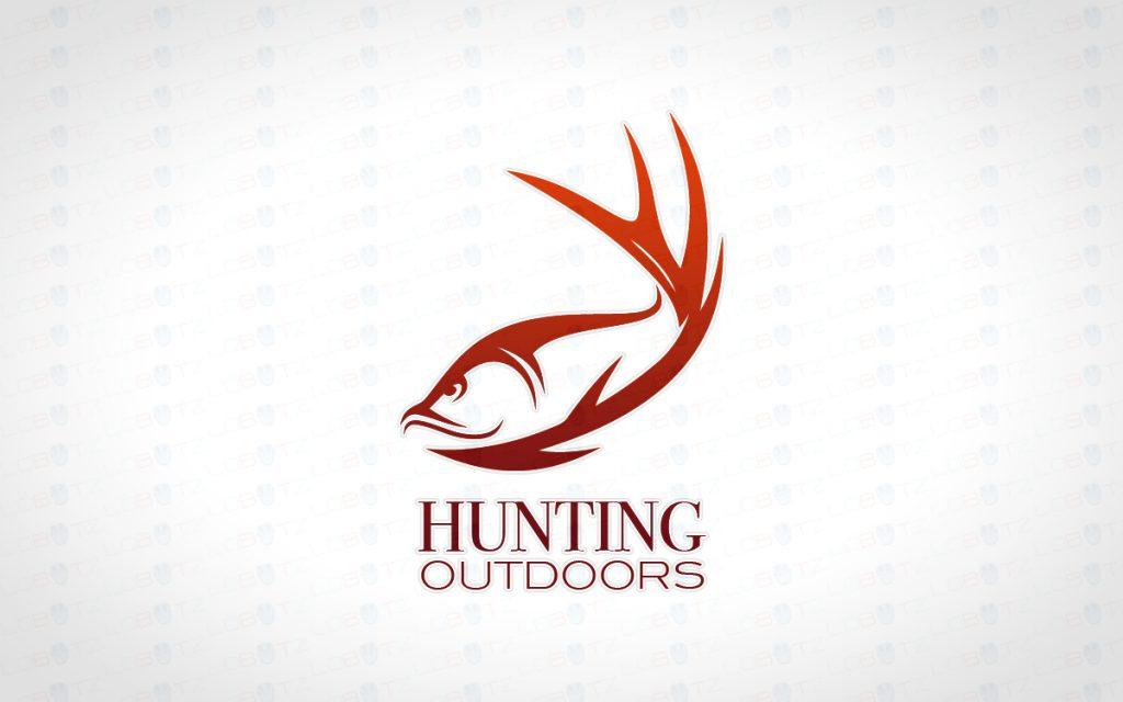 Creative fishing logo hunting logo outdoor logo lobotz for Hunting and fishing logos