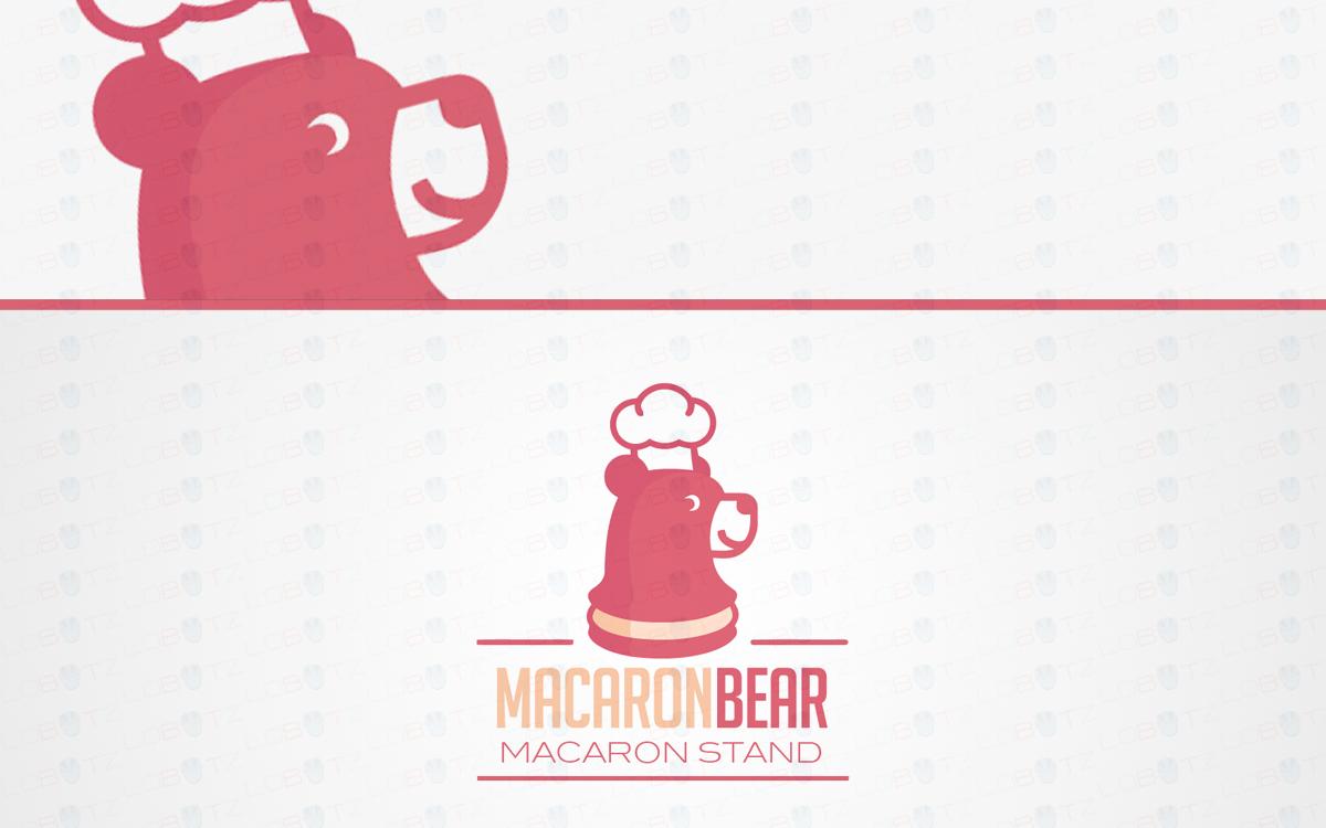 bear macaroon logo