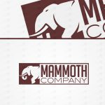 Strong One Off Mammoth Logo For Sale Online