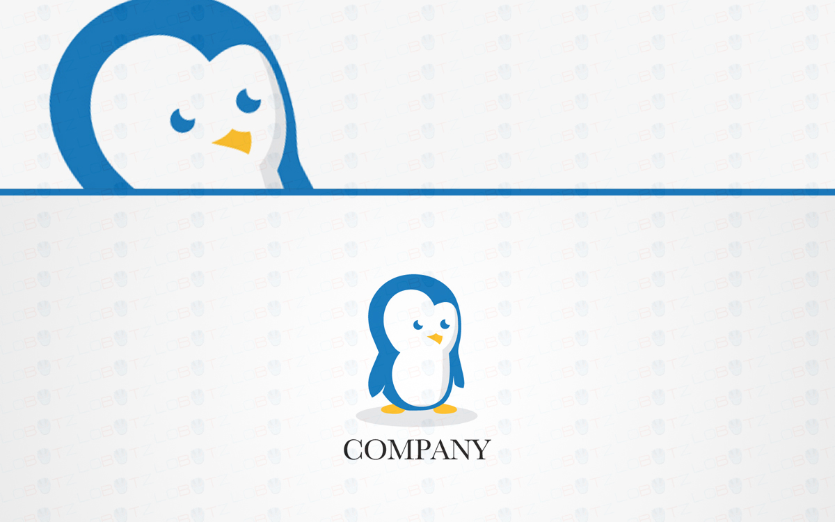 penguin logo for sale