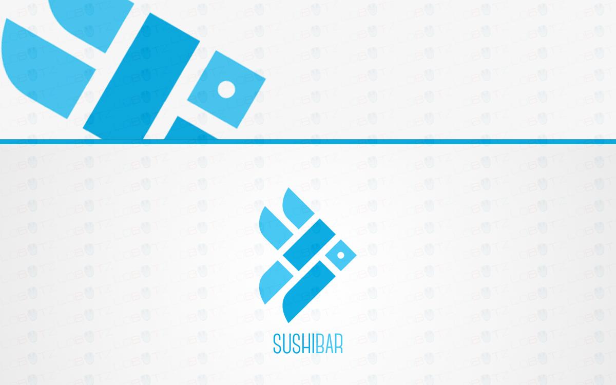 sushi fish logo for sale