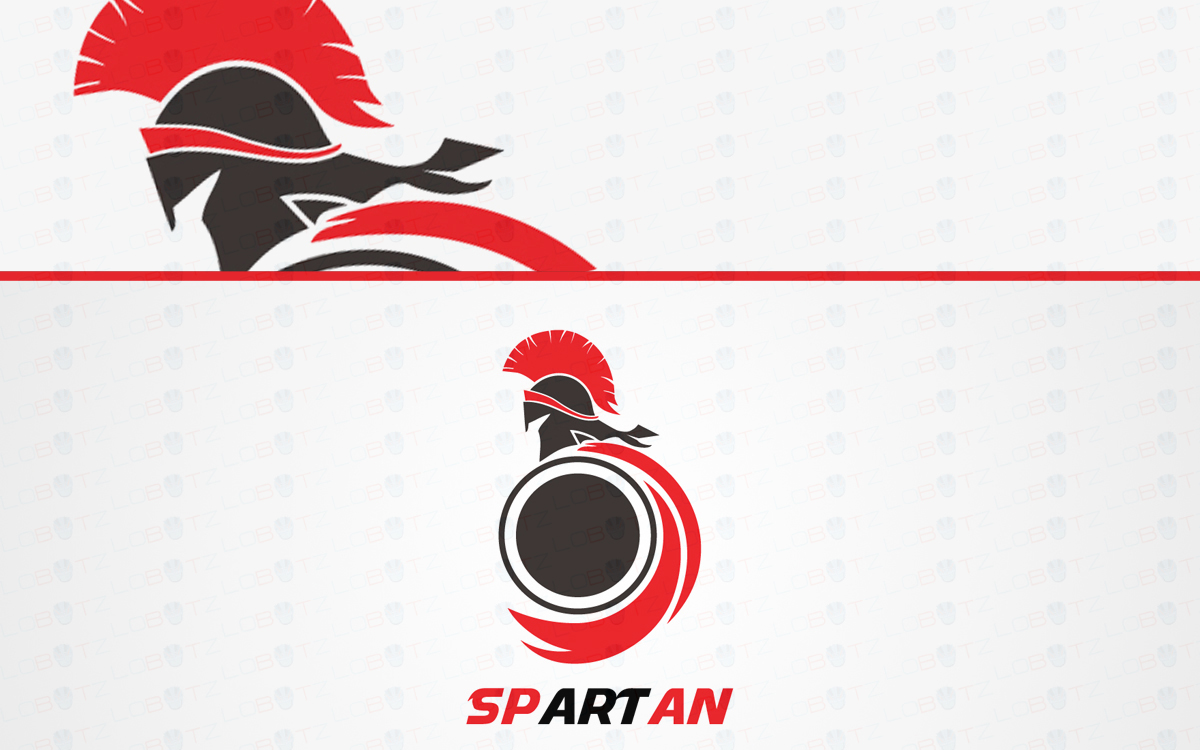 spartan warrior logo for sale