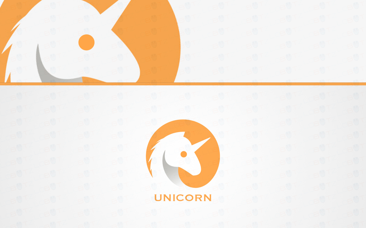 Unicorn logo for sale
