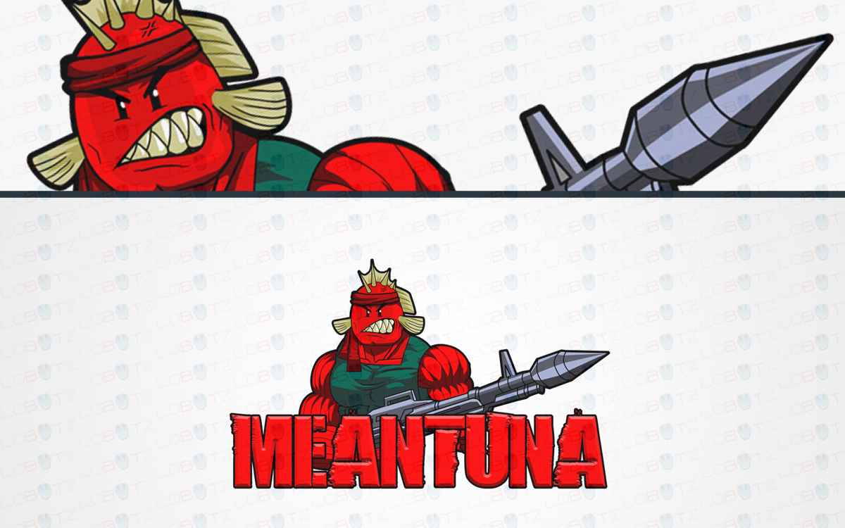 tuna mascot logo