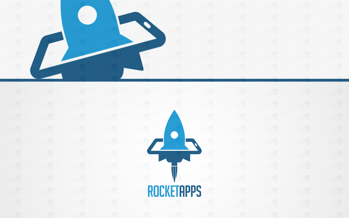 Rocket Logo For Sale