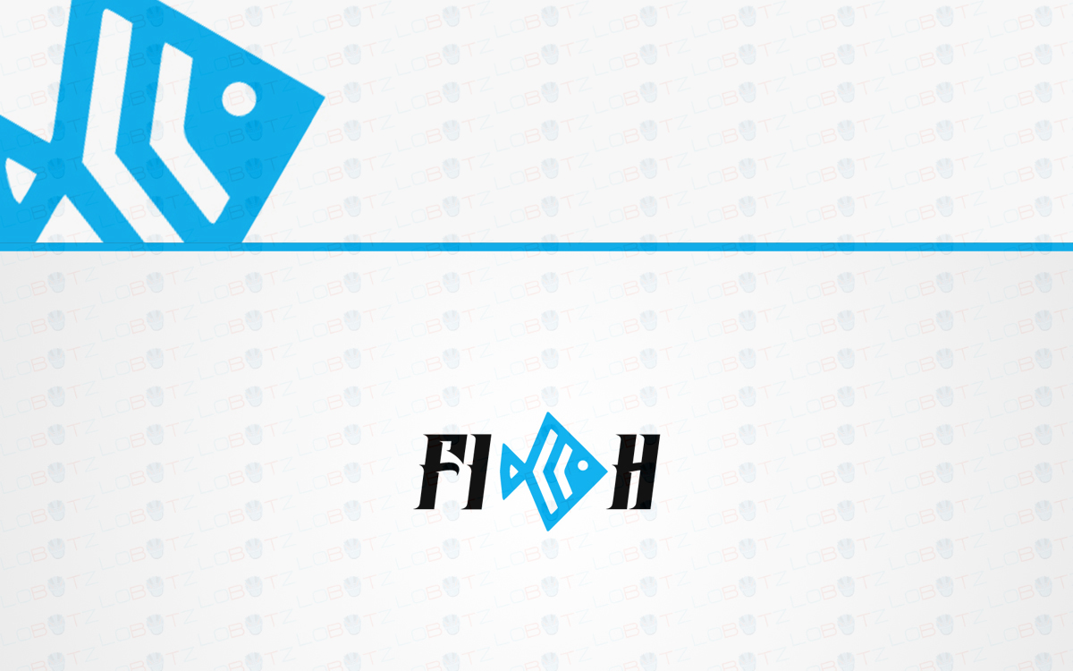 fish logo for sale