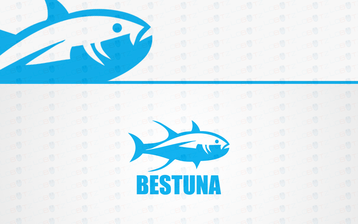 tuna fish logo for sale