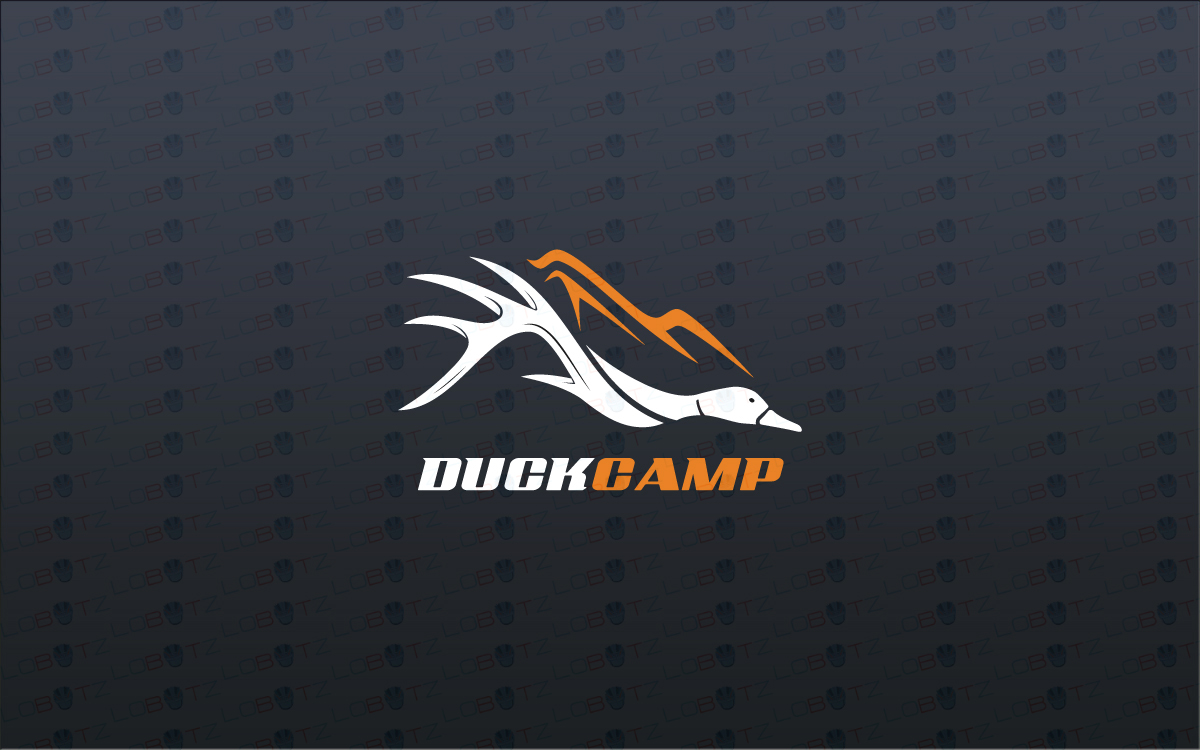 duck hunting logo for sale
