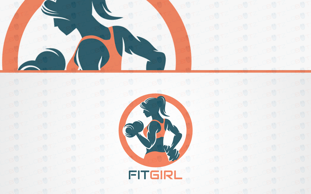 Spectacular Female Fitness Logo For Sale | Gym Logo - Lobotz for Gym Logo Pictures  34eri