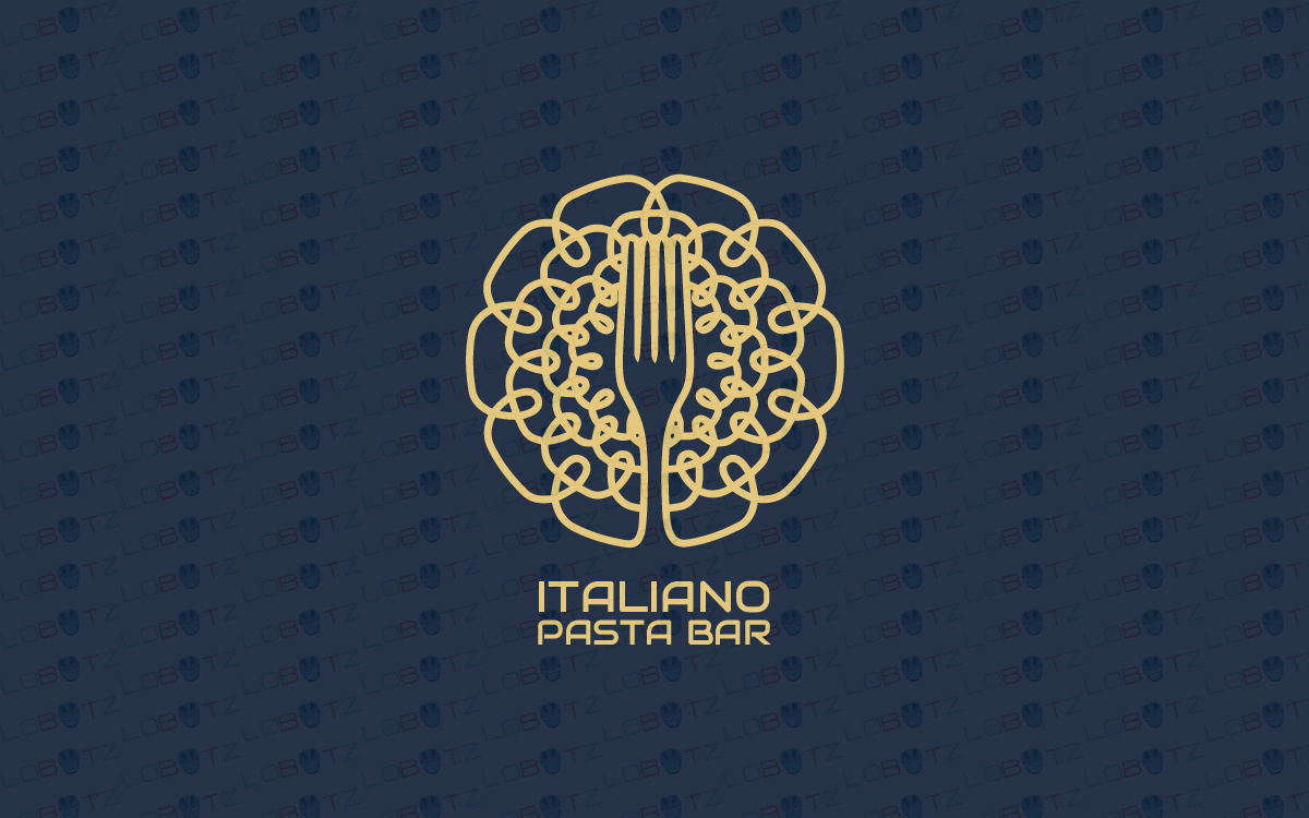 Pasta Bar Logo For Sale