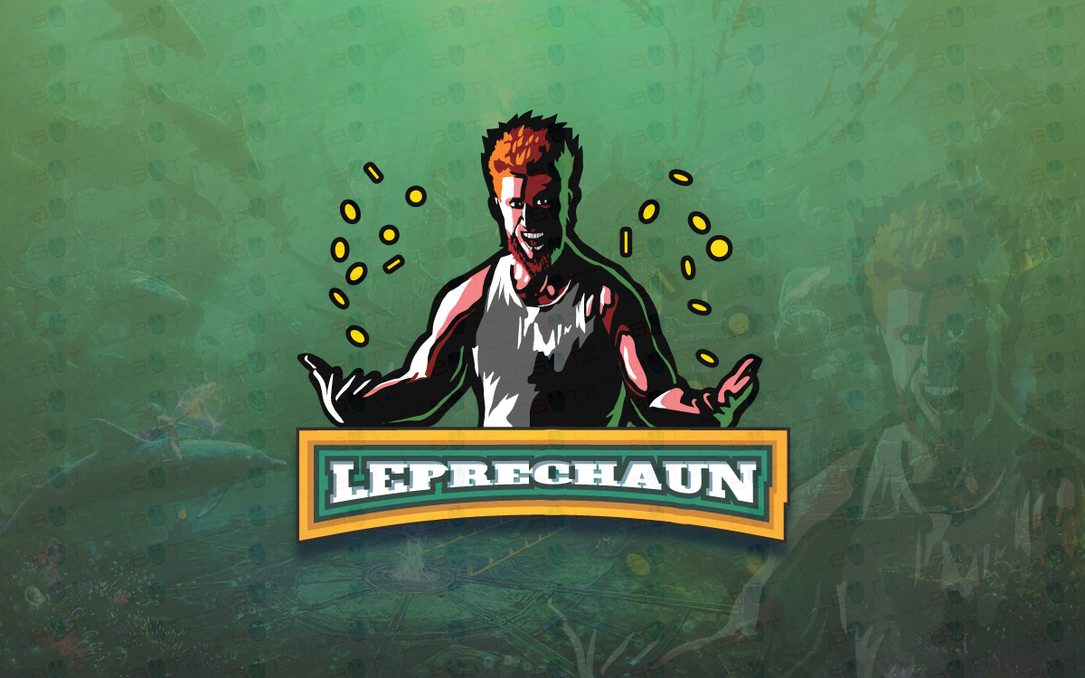 leprechaun esports logo for sale