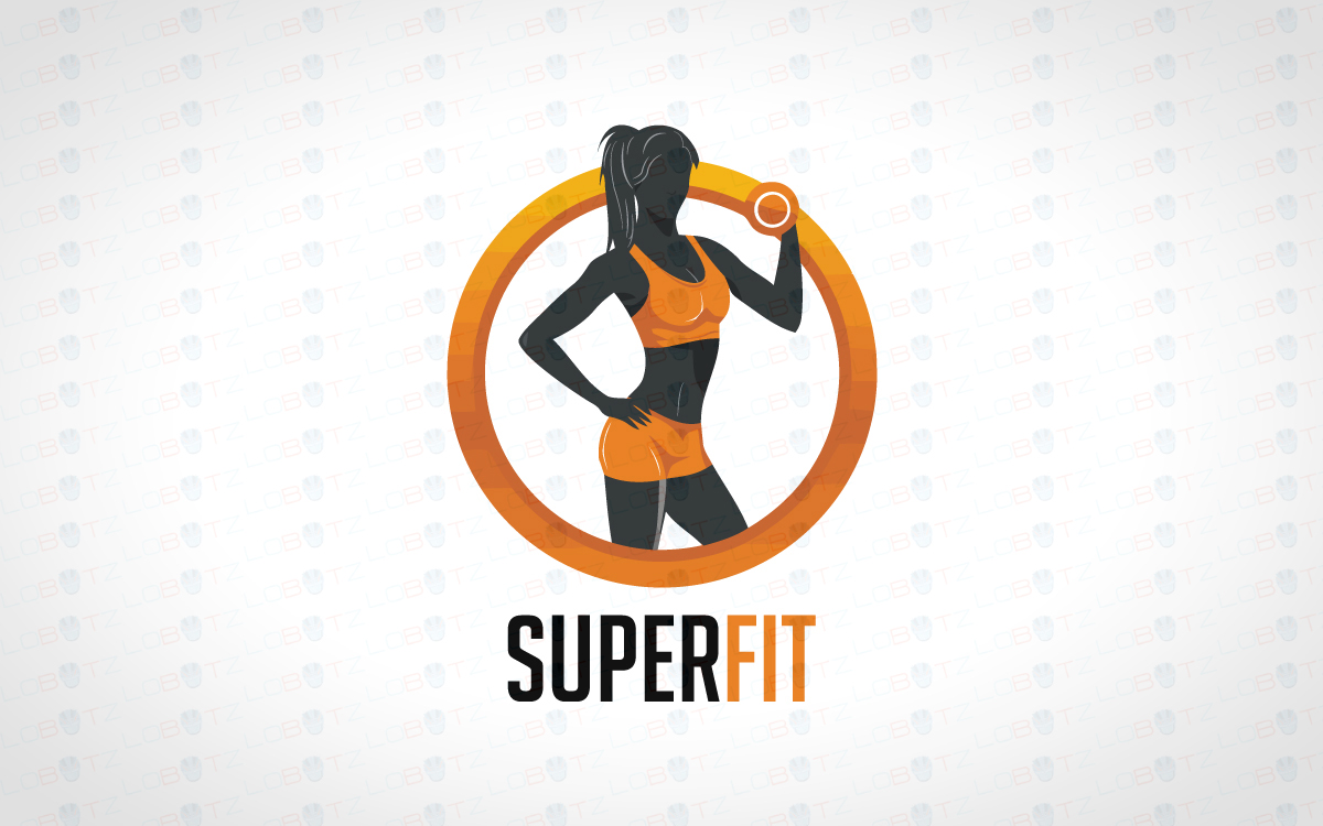 Magnificent Female Fitness Logo For Sale | Gym Logo - Lobotz for Gym Logo Pictures  59nar