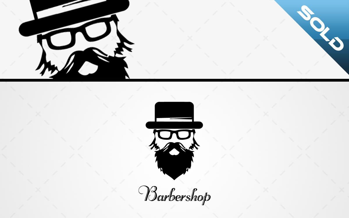 barbershop logo for sale