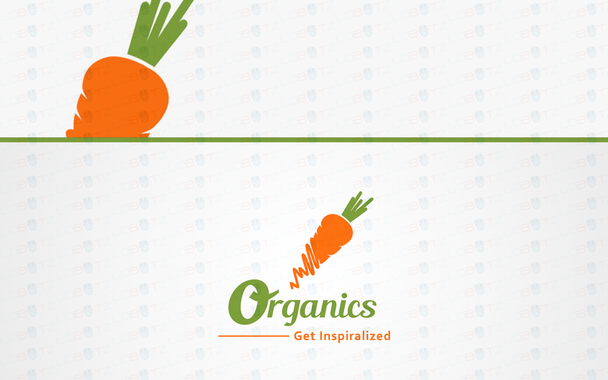 vegetable carrot logo for sale