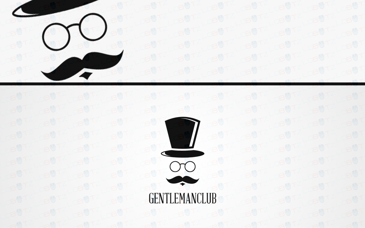 gentleman logo for sale