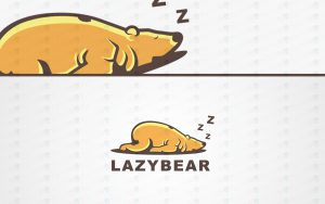 lazy bear logo for sale