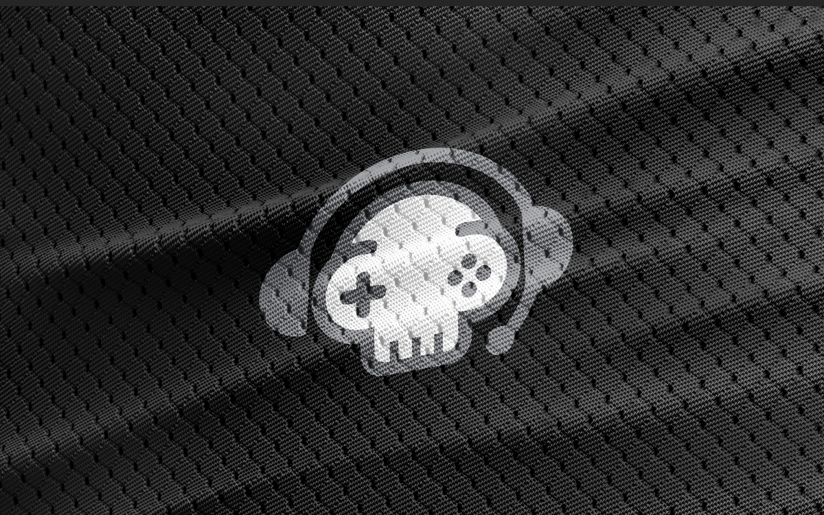 Skull gaming logo for sale