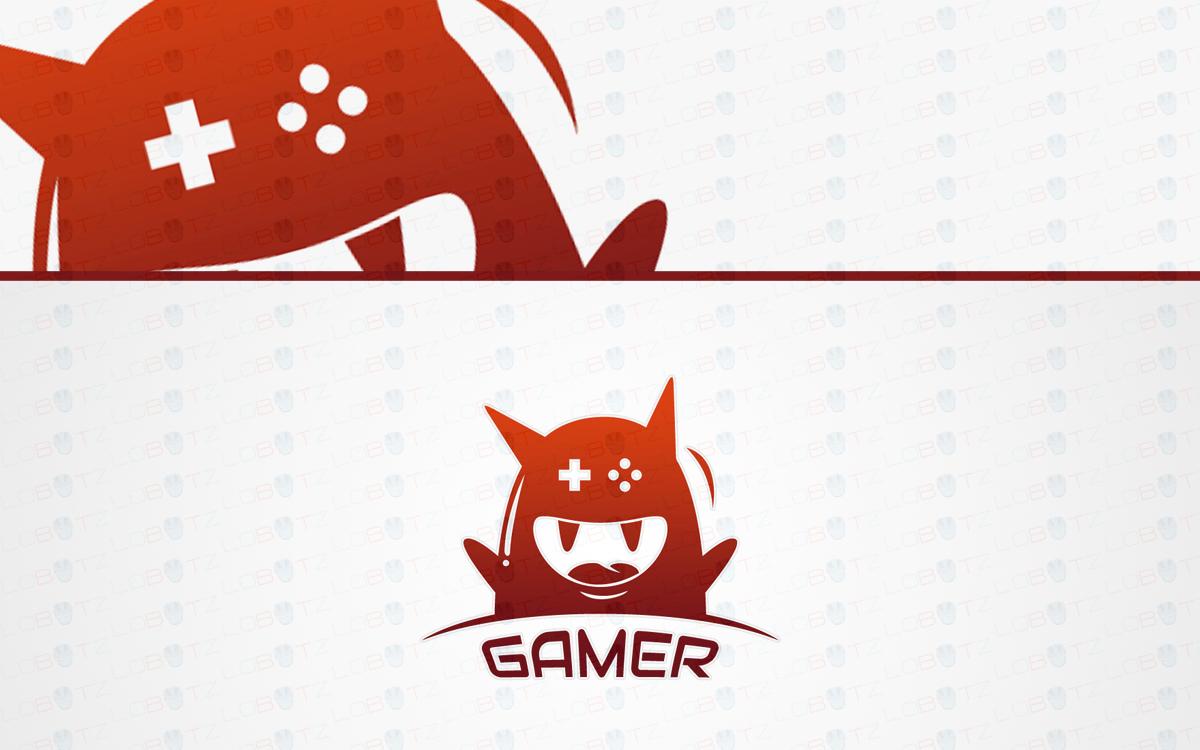 gaming monster logo for sale