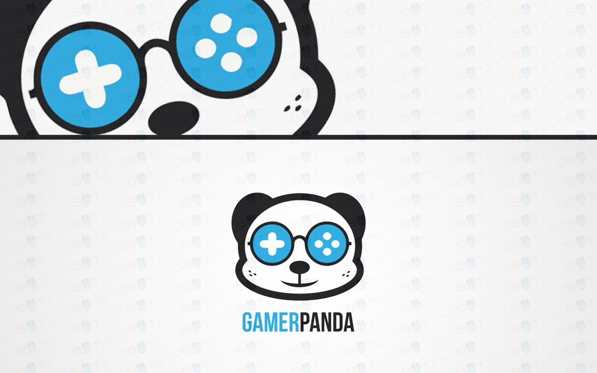panda gaming logo for sale