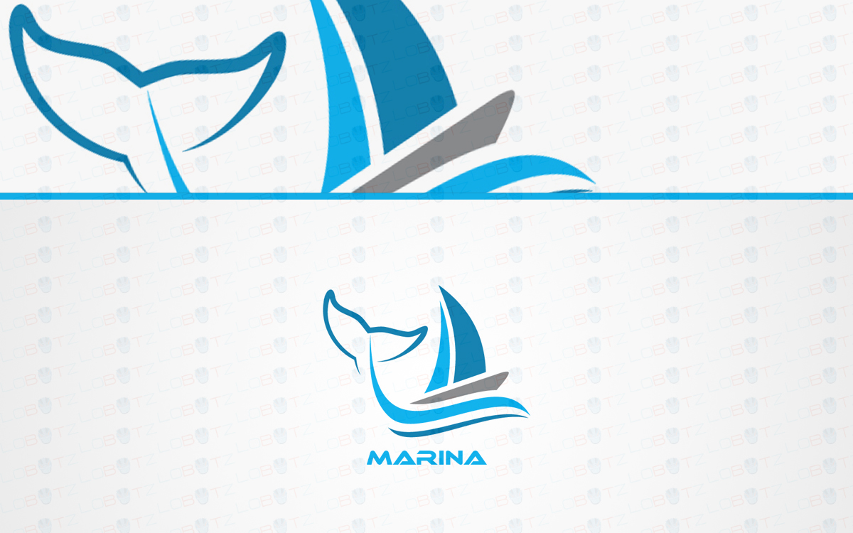 marina logo for sale