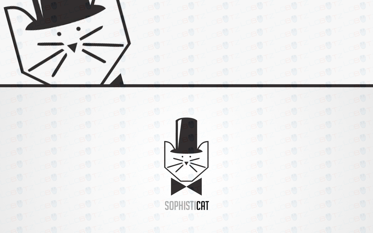 cat logo for sale