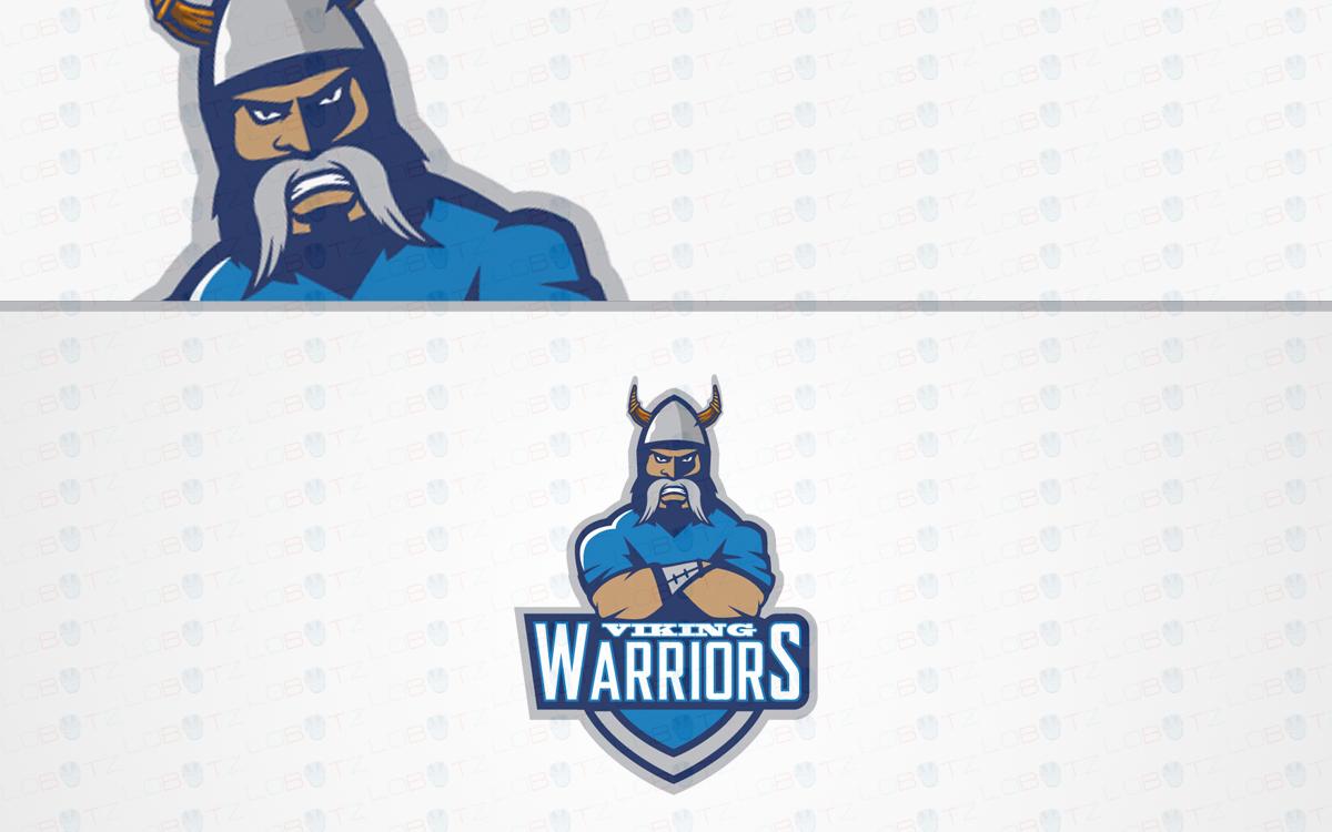 viking mascot logo for sale
