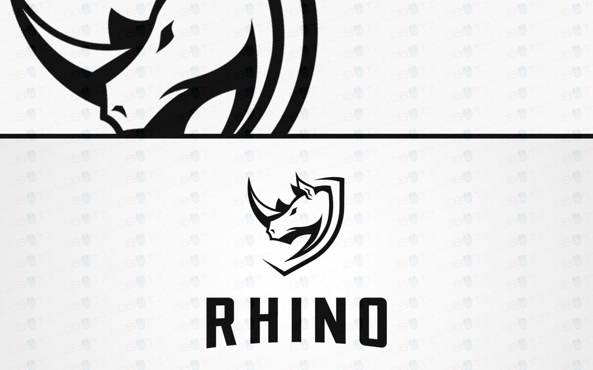 rhino crest logo for sale