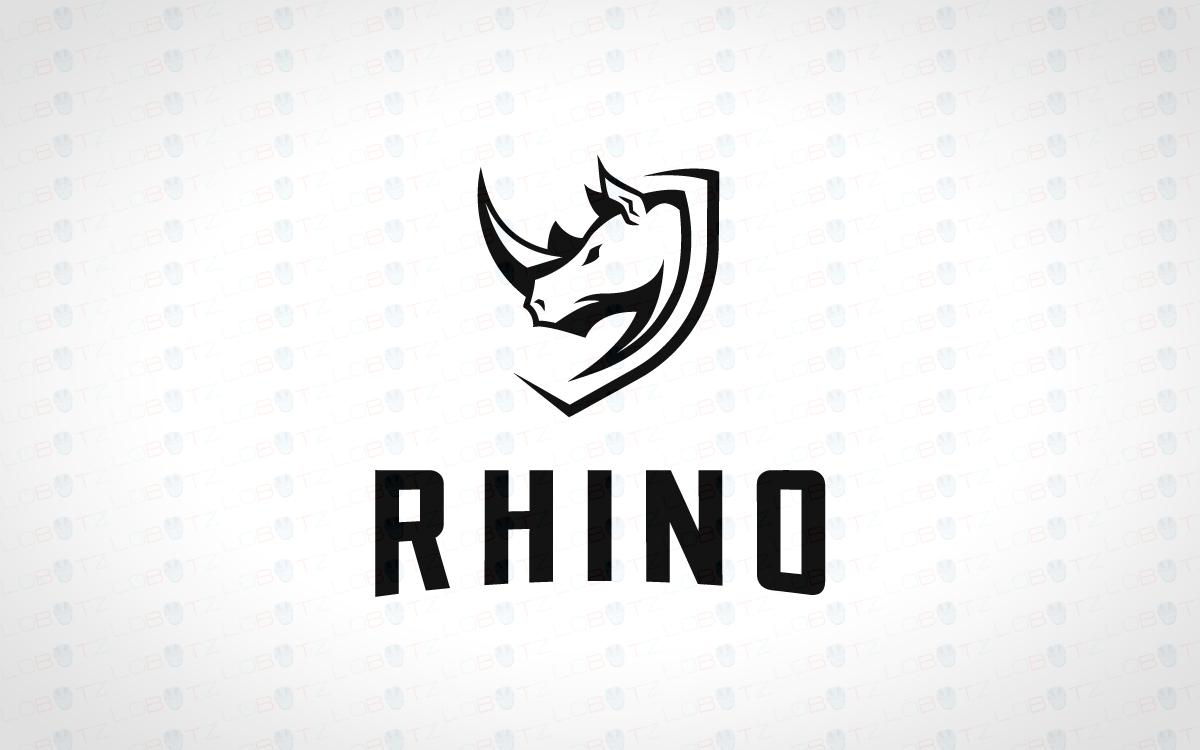 rhino crest logo modern amp trendy rhino logo for sale lobotz