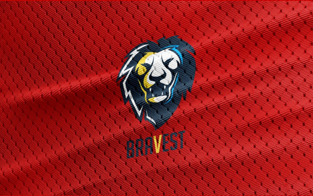 spectacular roaring lion head logo for sale lobotz