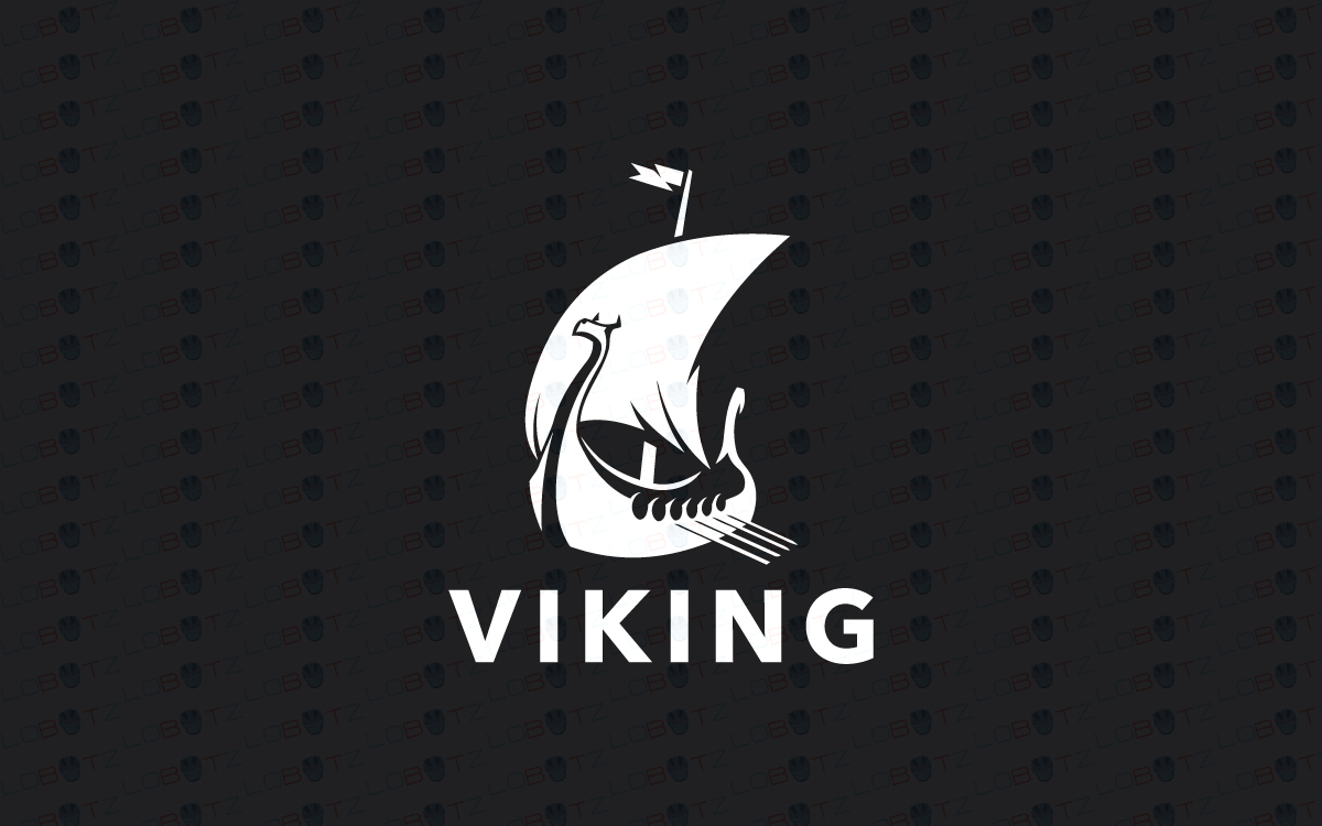 viking boat logo for sale