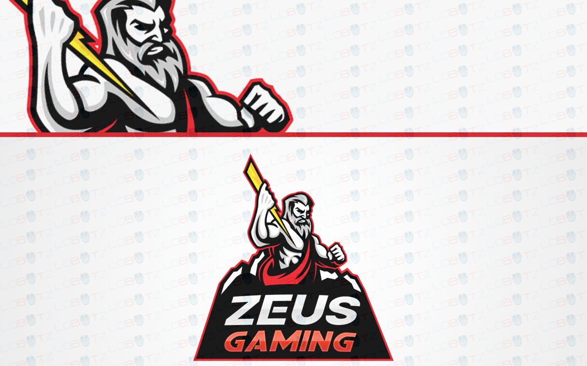 zeus mascot logo for sale