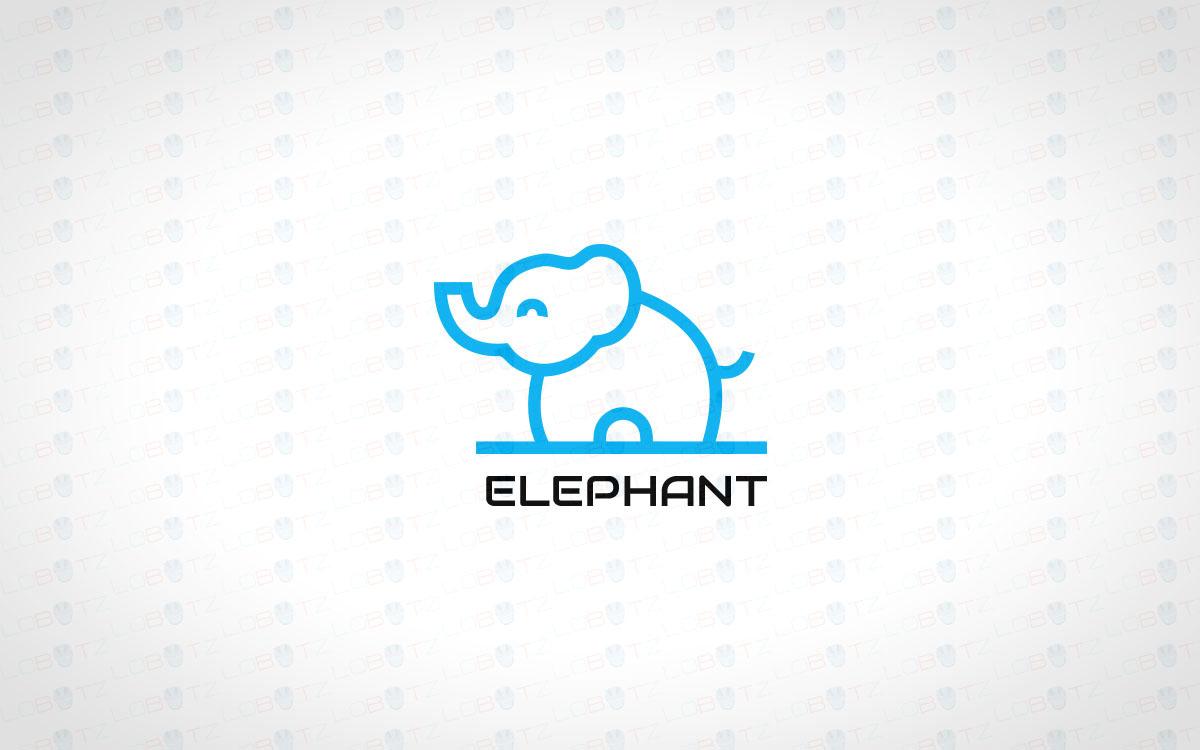 Elephant Logo | Creative Elephant Logo For Sale - Lobotz