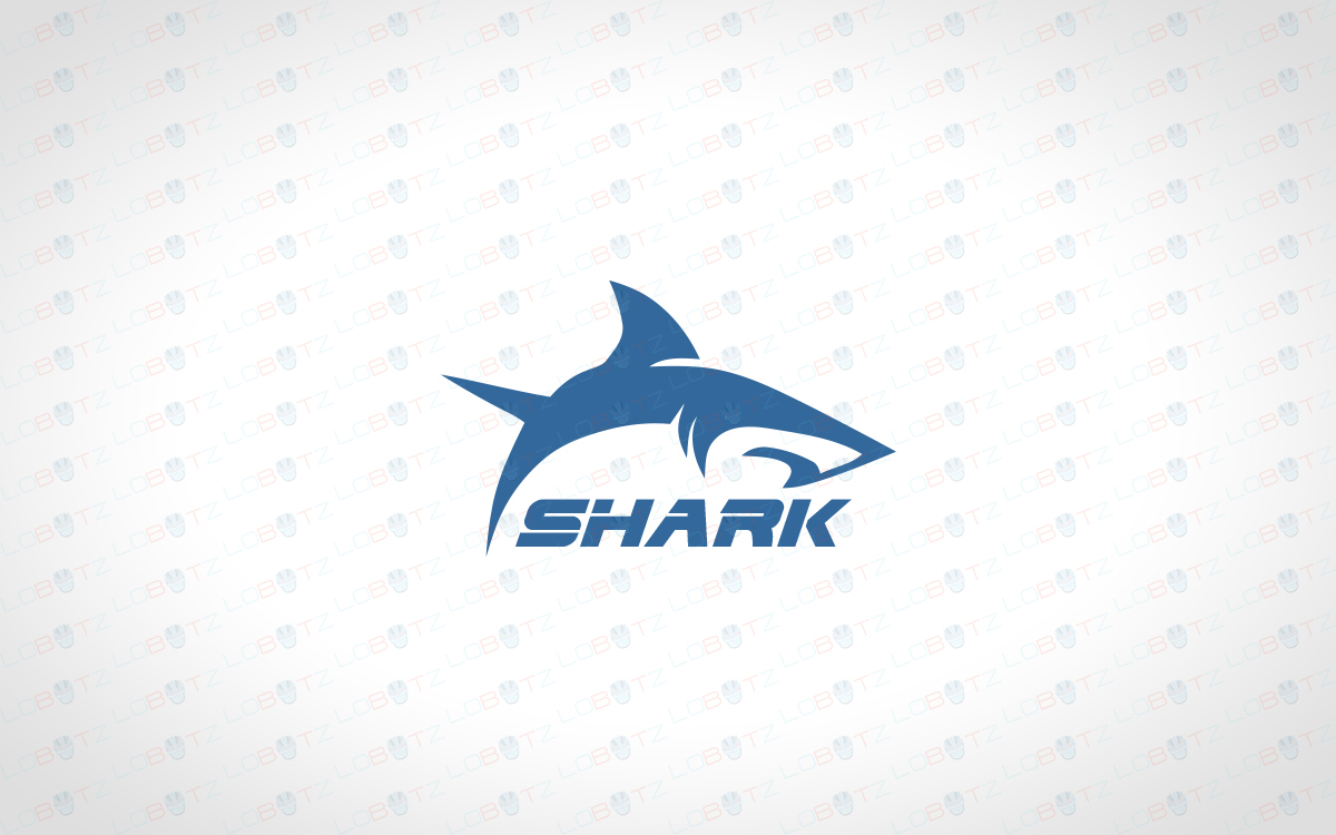 shark logo creative innovative shark logo for sale