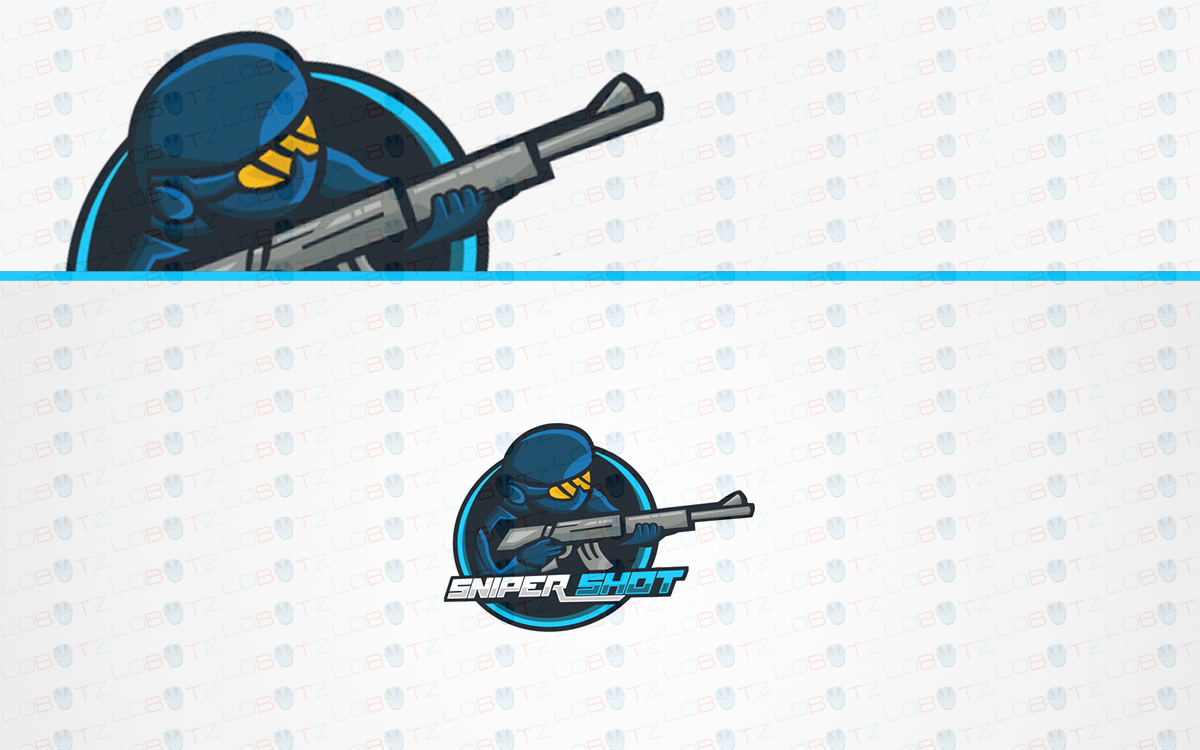 sniper soldier esports logo for sale