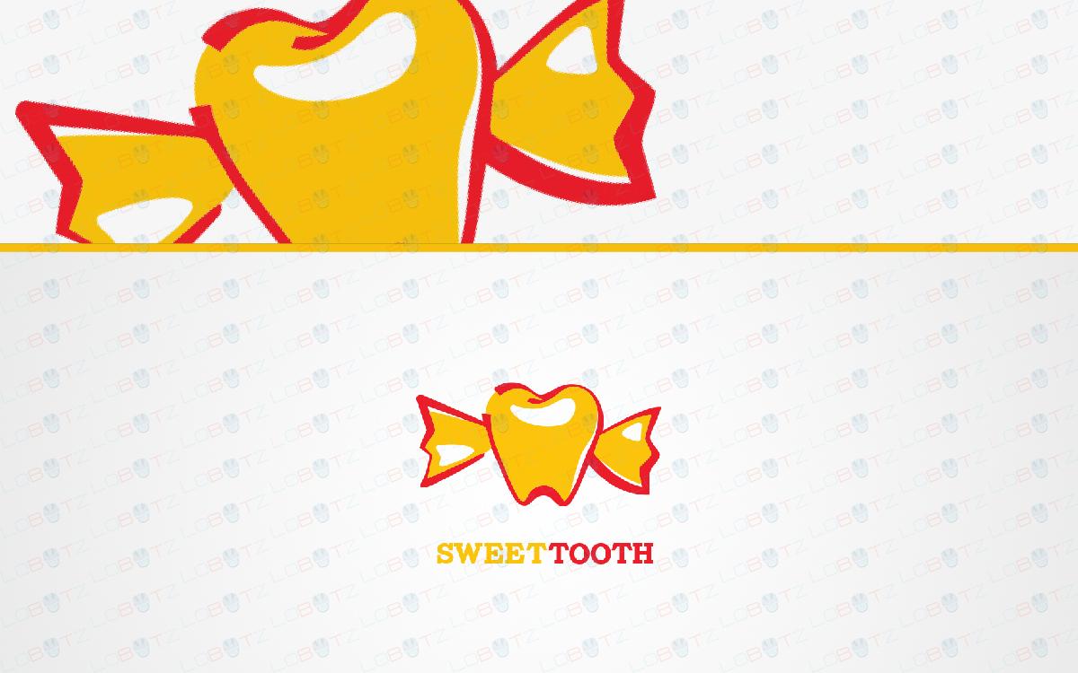 sweet dentist logo for sale