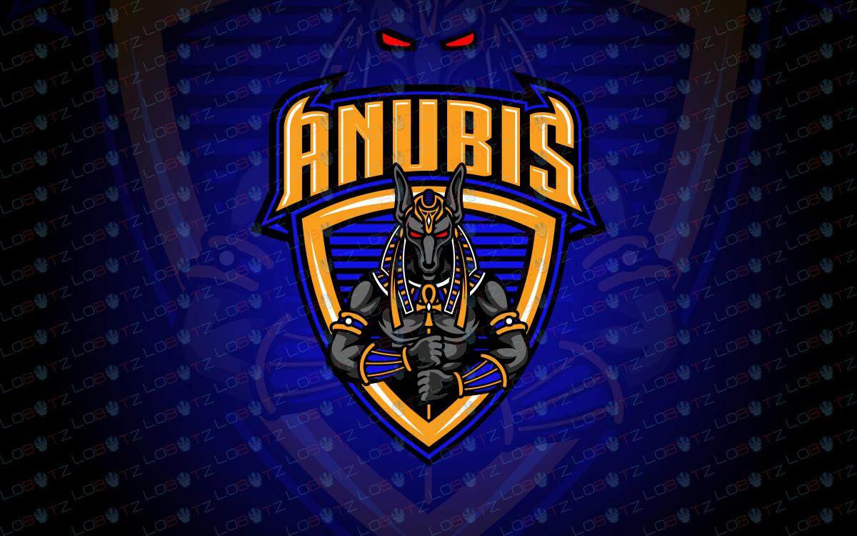 anubis logo anubis mascot logo anubis esports logo