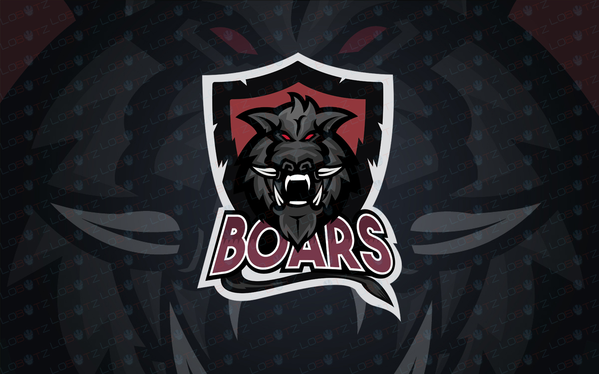 boar esports logo for sale