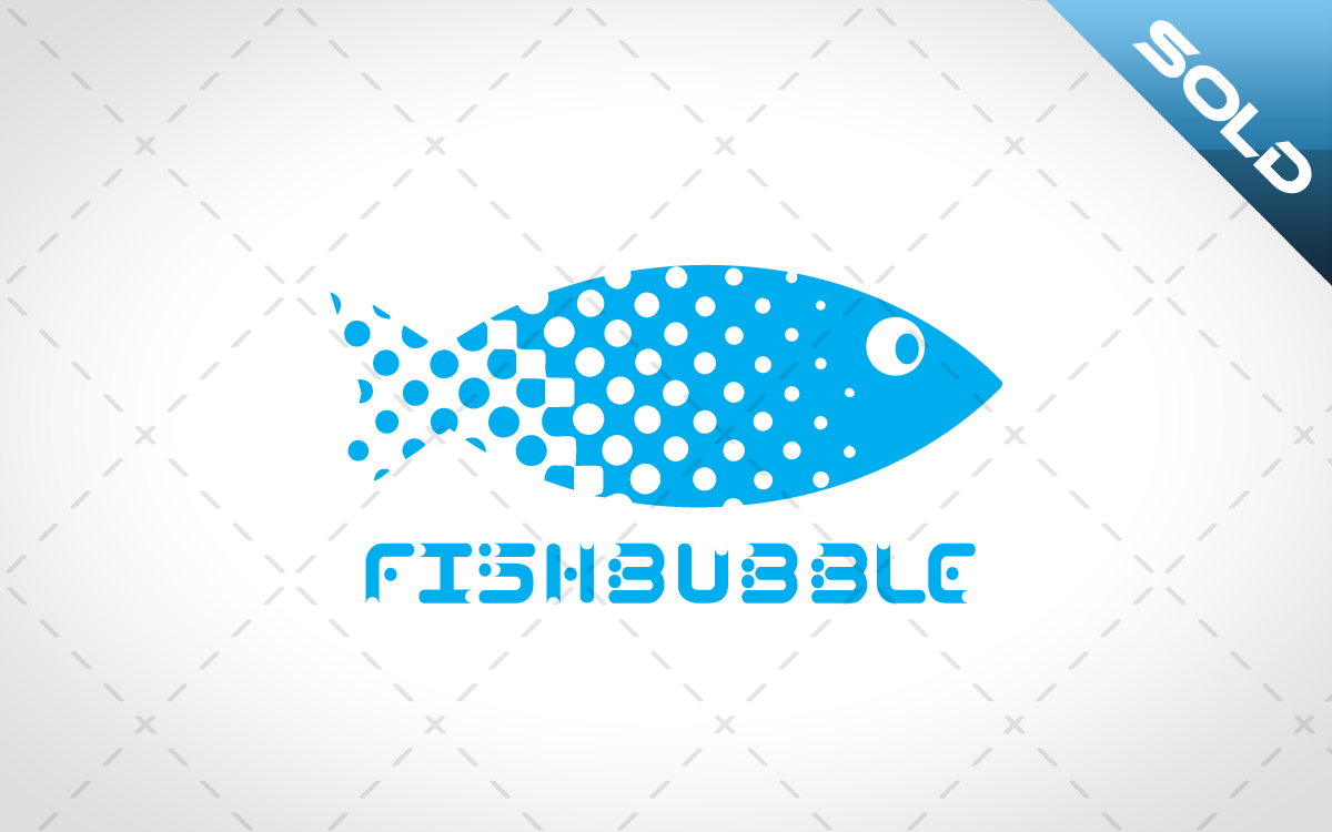 modern fish logo for sale