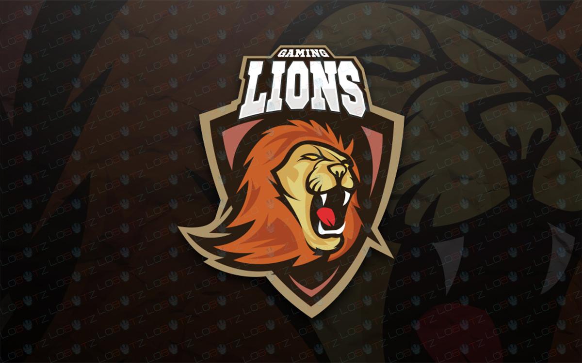 lion esportslogo for sale