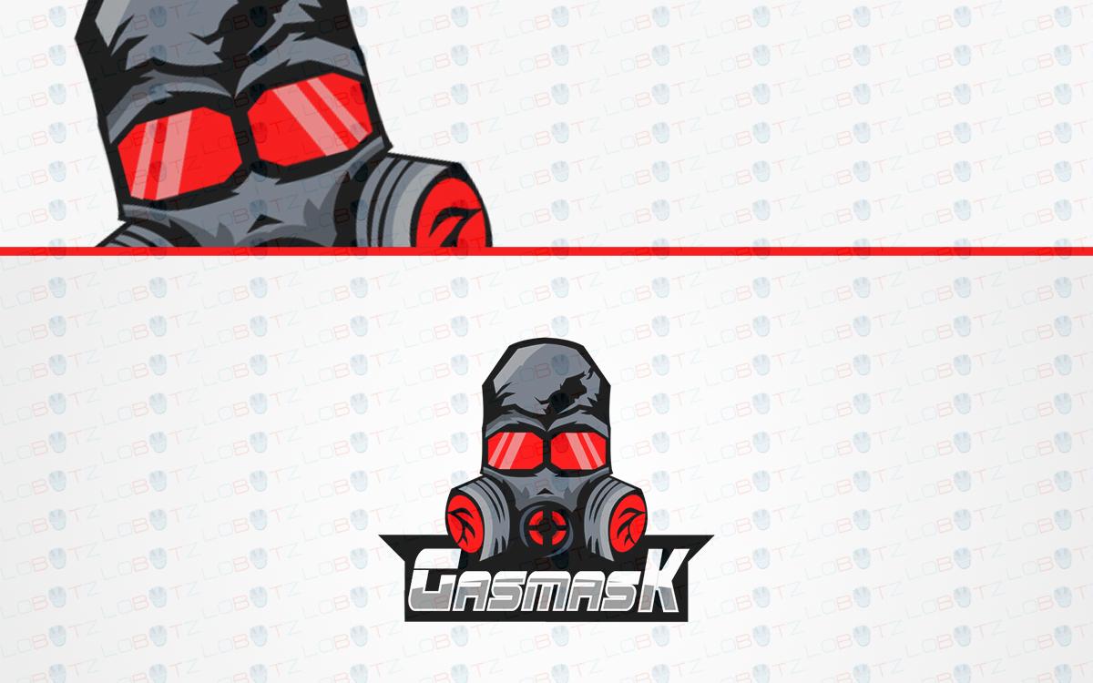 Gas Masked Skull Logo