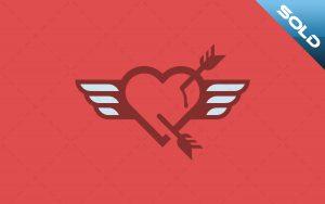 Heart Logo For Sale
