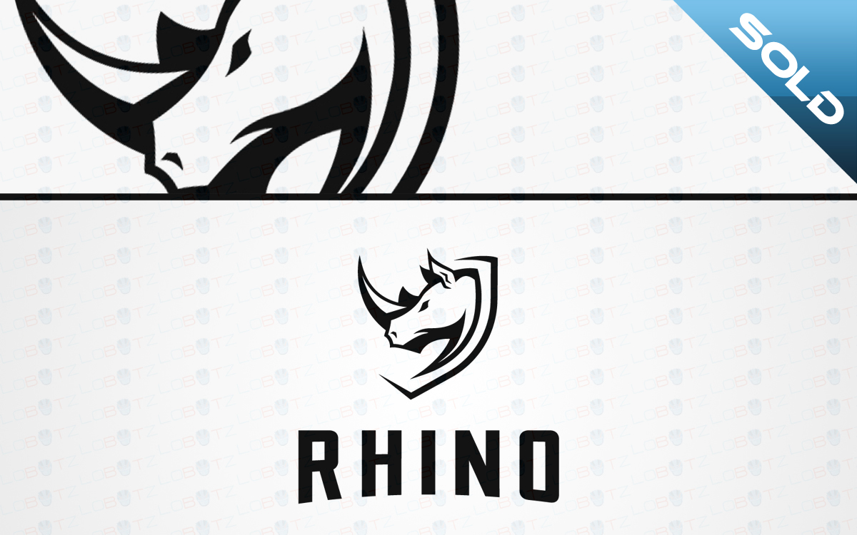 rhino crest logo for sale