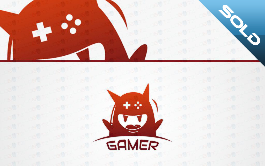 gaming monster logo for sale